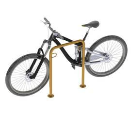 Велопарковка П-образная ВС-1, Материал: Сталь конструкционная, фото