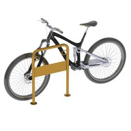 Велопарковка П-образная с рекламным полем ВС-3, фото