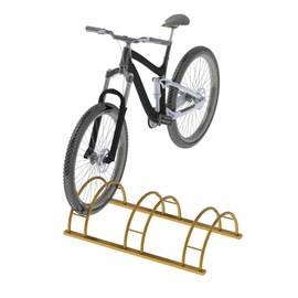 Велопарковка трехместная напольная ВС-4, фото