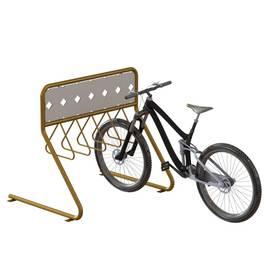 Велопарковка рекламная ВС-13, фото