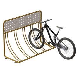 Велопарковка с рекламой ВС-24, фото
