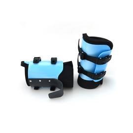 Гравитационные (инверсионные) ботинки PRO (до 120 кг) голубые, Цвет: Голубой, фото