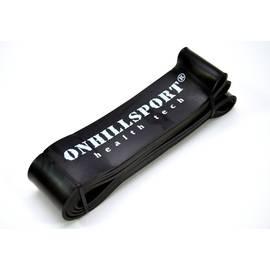 Латексная петля для фитнеса 2080 (64 мм) черная 25-70 кг, фото