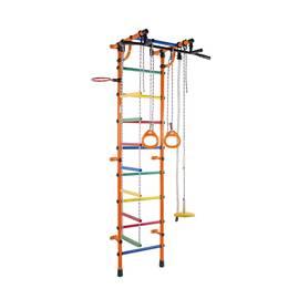 ДСК Формула здоровья Гамма оранжевый/радуга, Цвет стоек: Оранжевый, Цвет у перекладин: Разноцветные, фото
