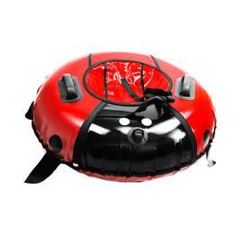 Тюбинг LadyBug Red диаметр 100 см, Диаметр: 100 см, Название / цвет: Красный, фото