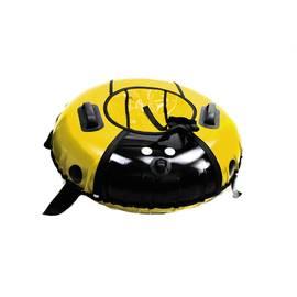 Тюбинг LadyBug Yellow диаметр 90 см, Диаметр: 90 см, Название / цвет: Желтый, фото