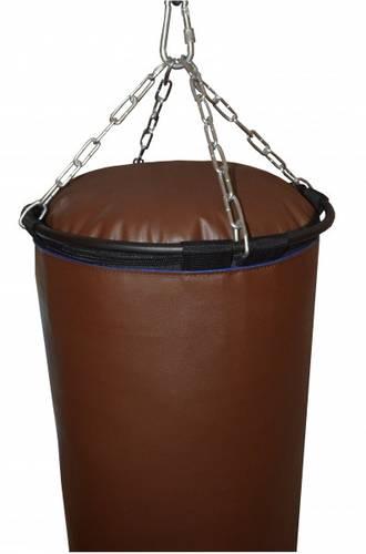 Боксерский мешок РОККИ 180X40 75 кг. Искусственная кожа 1450г/м2 (Профи), фото 3