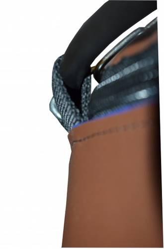 Боксерский мешок РОККИ 180X40 75 кг. Искусственная кожа 1450г/м2 (Профи), фото 4