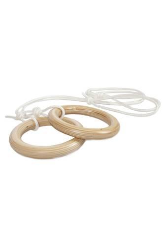 Кольца гимнастические деревянные, фото 1