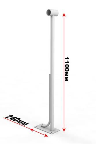 Кронштейн напольный, однорядный - 1, фото