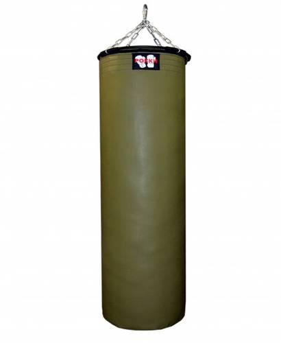 Боксерский мешок Хаки РОККИ двойной тент 1450 г/м2 100*40 см 40 кг для улицы, фото