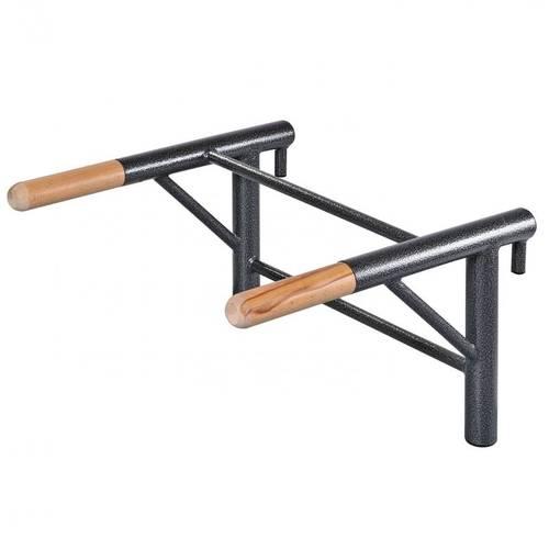 Брусья (деревянные ручки) для шведской стенки (цельносварные), Цвет металлических частей комплекса: Антик-серебро, фото