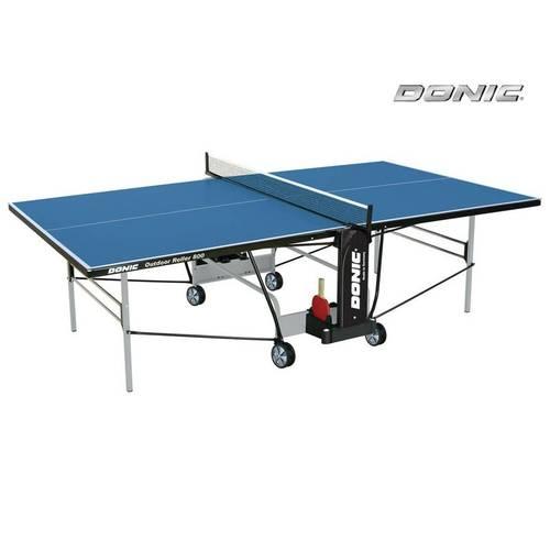 Всепогодный теннисный стол Donic Outdoor Roller 800 синий (230296-B), фото