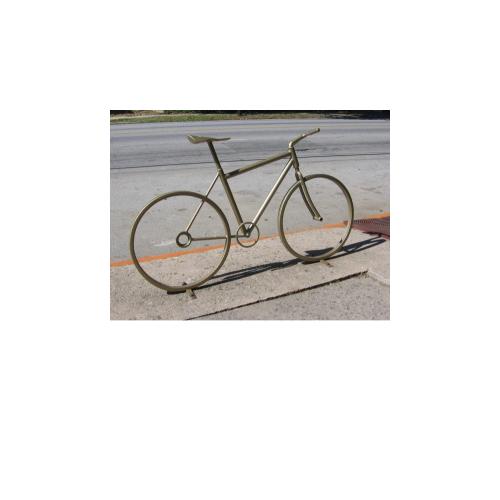 Велопарковка Декоративный велосипед, фото
