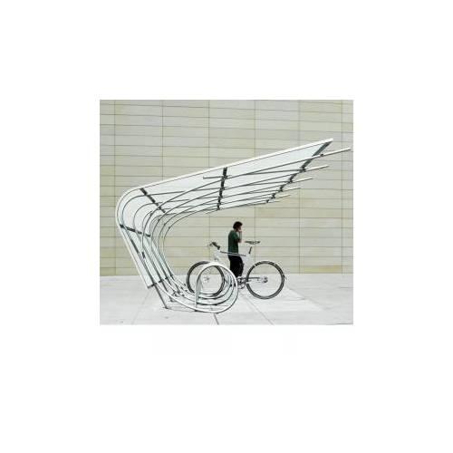 Велопарковка крытая Крыло, фото