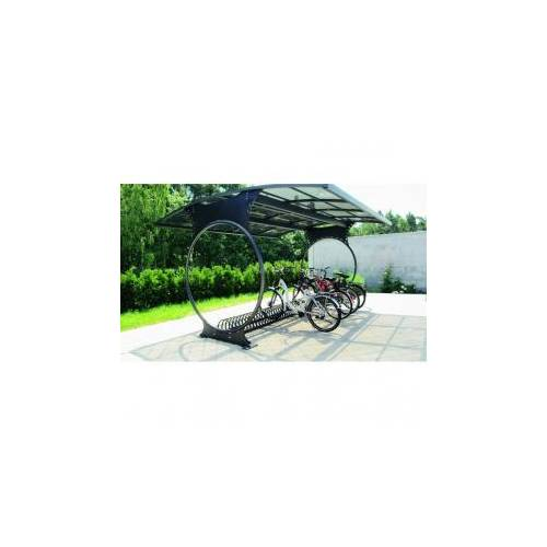 Велопарковка с навесом Круги-2, фото