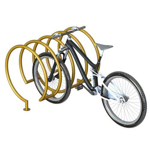 Велопарковка спираль ВС-28, фото