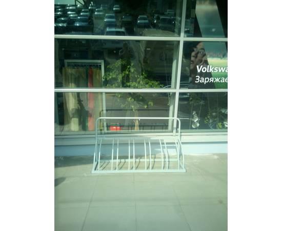 Велопарковка Оптима-1 на 6 мест рекламная, фото 10