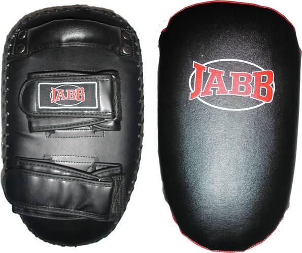 Макивара Jabb (нат.кожа) JE-2230 черный/красный N/S, фото