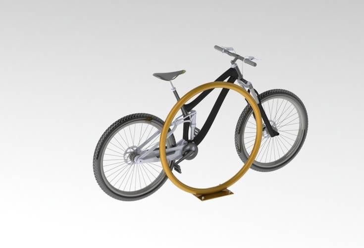 Велопарковка «Кольцо» ВС-25, фото