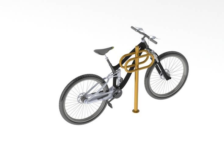 Велостоянка на 2 парковочных места ВС-27, фото