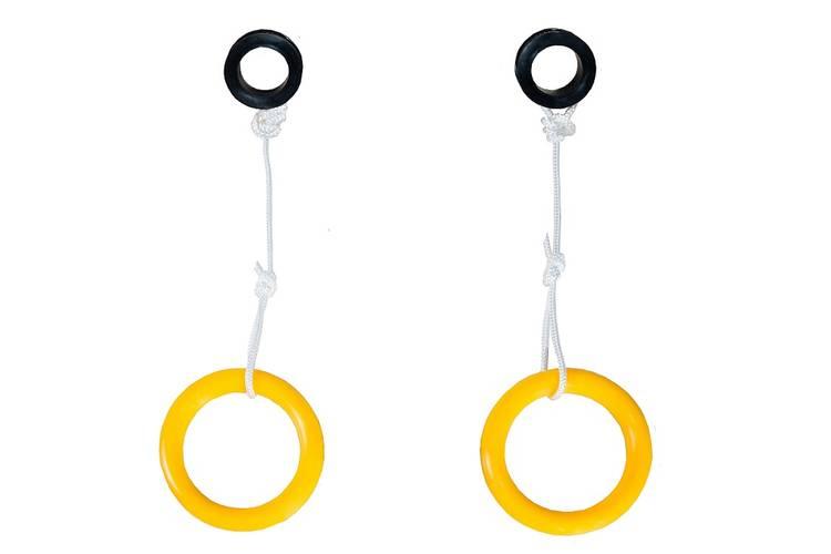 Кольца гимнастические КМС пластмасса, фото