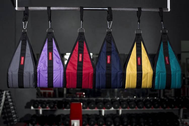 Петли Береша подвесные атлетические B1, малый карабин (150 кг), фото