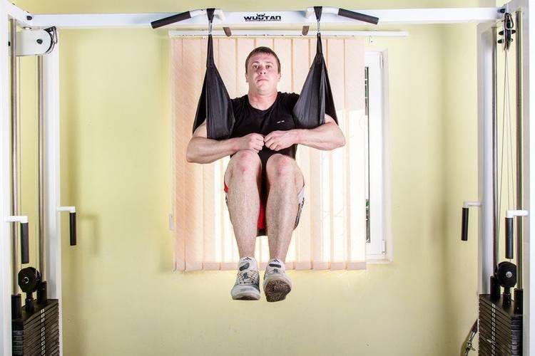 Петли Береша подвесные атлетические B1, малый карабин (150 кг), фото 3