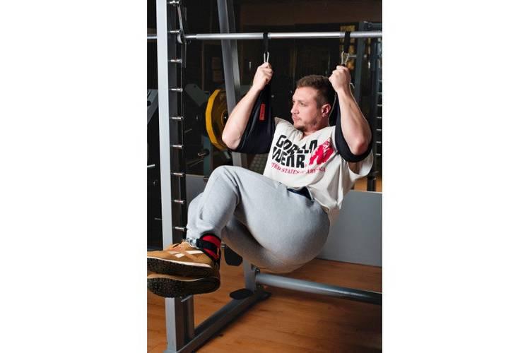 Петли Береша подвесные атлетические B1, малый карабин (150 кг), фото 6